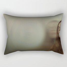 El viaje comienza ( the journey begins) Rectangular Pillow
