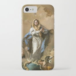 The Immaculate Conception by Giovanni Battista Tiepolo (c 1768) iPhone Case