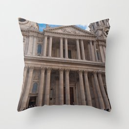 St Paul's Cathedral Throw Pillow