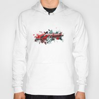 cars Hoodies featuring cars  by mark ashkenazi