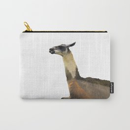 Llama Double Exposure Carry-All Pouch