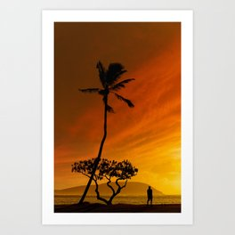 6:16 PM Hawaii Time Art Print