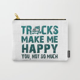 Trucks make me happy Carry-All Pouch