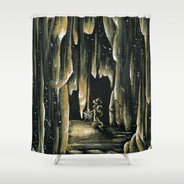 The Walk of Time Shower Curtain