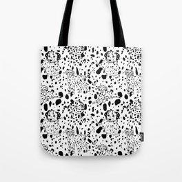 Dalmatian Daze Tote Bag
