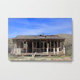 Busted Bunkhouse Metal Print