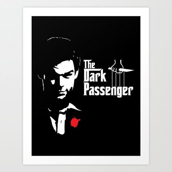 The Dark Passenger Art Print