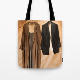 Hanging Jackets Tote Bag