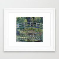 monet Framed Art Prints featuring Monet by Palazzo Art Gallery