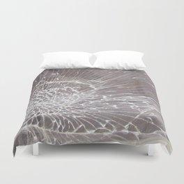 Texture #12 Glass Duvet Cover