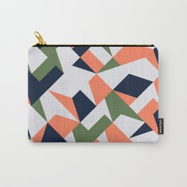 Geometric shapes retro Carry-All Pouch