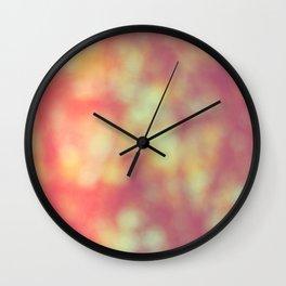 Bokeh background 102 Wall Clock