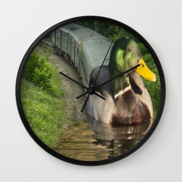 The Mallard Wall Clock