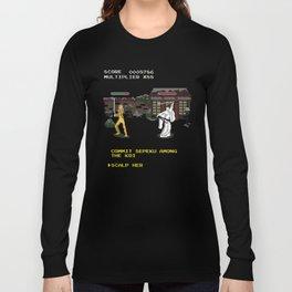 Kill Bill Arcade Game Long Sleeve T-shirt