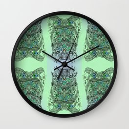 Little Birds and big brother Owl Wall Clock