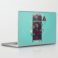 play Laptop & iPad Skins featuring Play! by Hector Mansilla