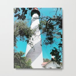Lighthouses rule Metal Print
