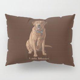 Lab Mom Fox Red Yellow Labrador Retriever Dog Pillow Sham