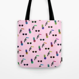 Tropical Print Take 2 Tote Bag