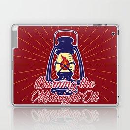 Midnight Oil - Red Laptop & iPad Skin