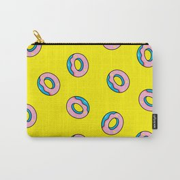 Donuts Yellow Carry-All Pouch