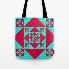 Pop Petals Pattern Tote Bag