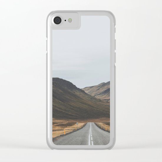 Innra Hvannagil, Iceland Clear iPhone Case