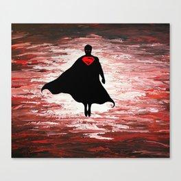 Superman unleashed Canvas Print