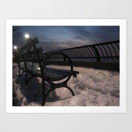 New York - Battery Park Art Print
