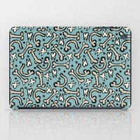 bones iPad Cases featuring Bones by Elly Whiley