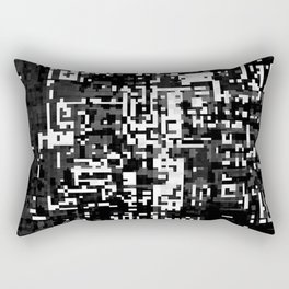 now and then. det. 1a Rectangular Pillow