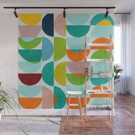 shapes abstract III Wall Mural