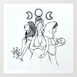 Maiden, Mother, Crone Art Print