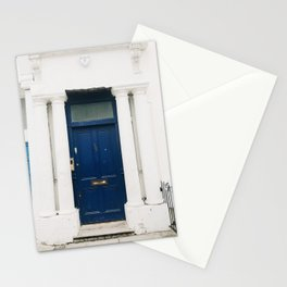 The Blue Door in Notting Hill Stationery Cards
