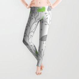 KiwiGarden - green and gray Leggings