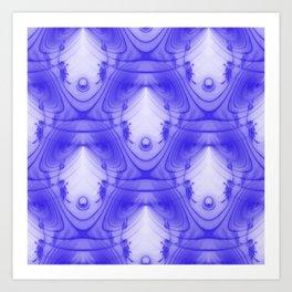 Those Purple Moments.... Art Print