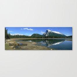 Mount Rundle Alberta Canada Canvas Print
