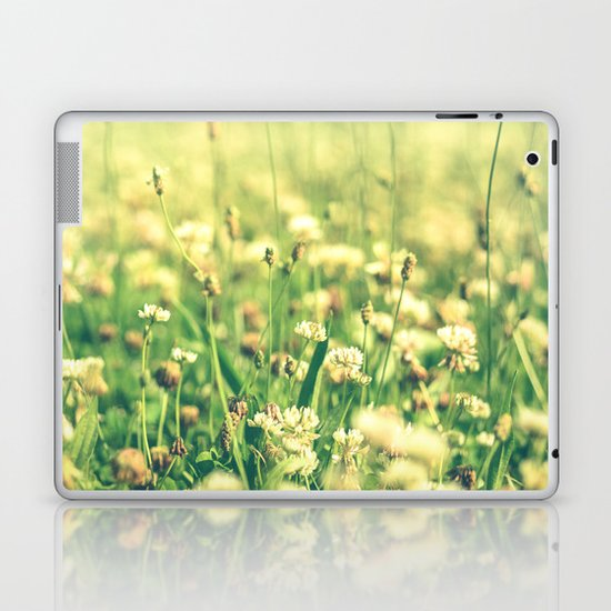 My Heart Was Wrapped in Clover (the night I looked at you) Laptop & iPad Skin