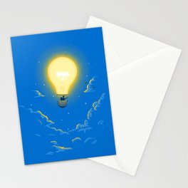 Let the light lead the way Stationery Cards