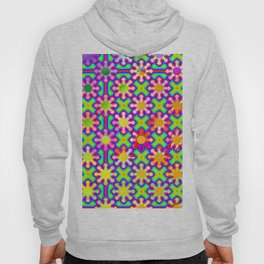 0107 Colorful serious pattern ... Hoody