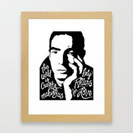 Jakob Dylan - Holy Rollers of Love Framed Art Print