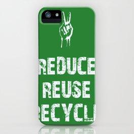 Reduce... iPhone Case