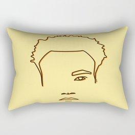 Childish Gambino - Yellow & Orange palette Rectangular Pillow
