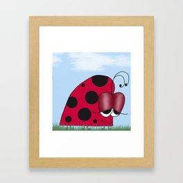 The Euphoric Ladybug Framed Art Print