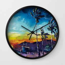 Tower Life 1 Wall Clock