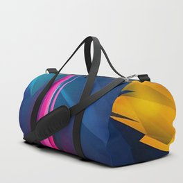 Geometric Colors Duffle Bag