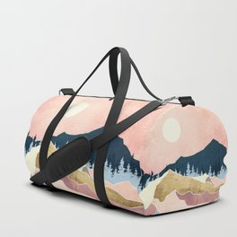 Coral Sunset Duffle Bag