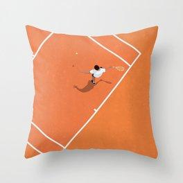 French Open | Tennis Grand Slam  Throw Pillow