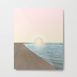 Untypical sunset Metal Print