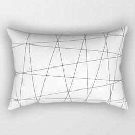 minimalistic chaos Rectangular Pillow